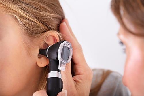 Girl with tinnitus at Life Sounds Audiology